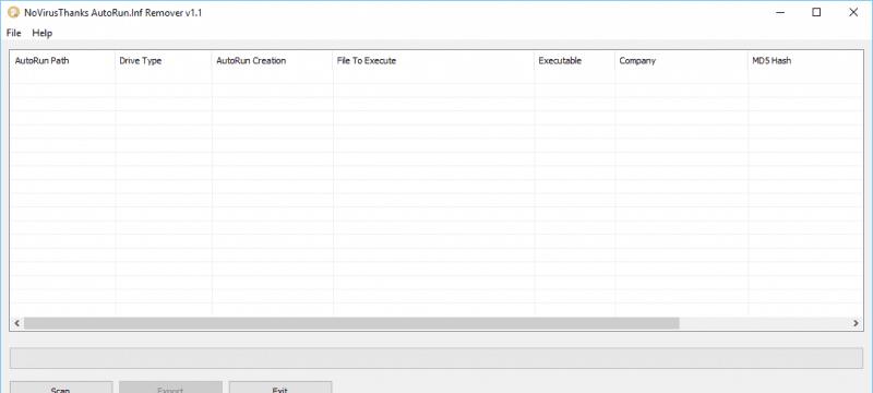 Scan & Remove Autorun Inf Virus File with AutoRun Inf