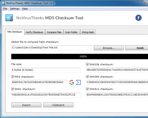 md5-checksum-tool