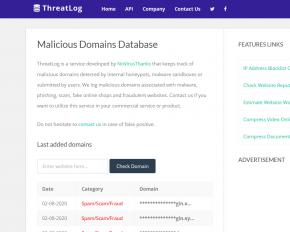 malicious-urls-database