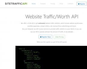 webite-traffic-api
